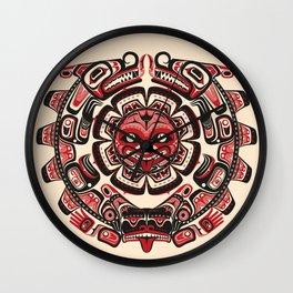 Sisiutl - The Two Headed Serpent Wall Clock