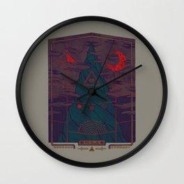 Mount Death Wall Clock