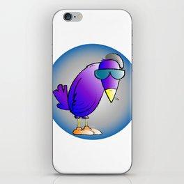 smokin' bird iPhone Skin