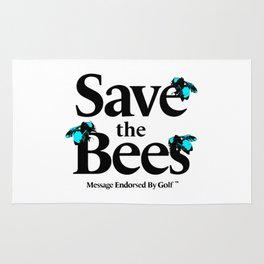 SAVE THE BEES - GOLF WANG Rug