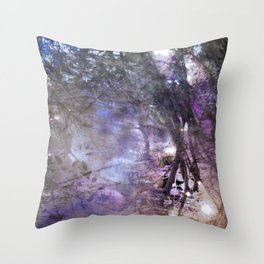 Hoar glass Throw Pillow