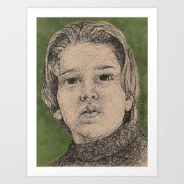 When She Was Bad Art Print