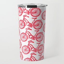 roule ma poule - wanna ride my bicycle red Travel Mug