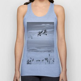 Its quicker by air Unisex Tank Top