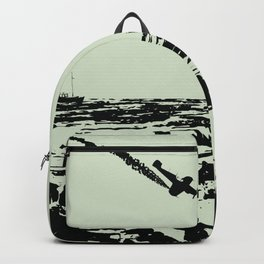 He's on me... I'm on him. Dunkirk Film Poster Backpack
