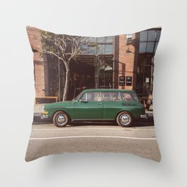 Los Angeles Arts District Throw Pillow