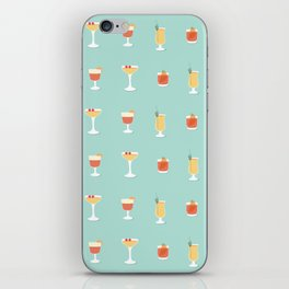 Cocktails iPhone Skin