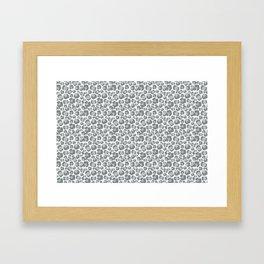 Snow Leopard Feline Framed Art Print
