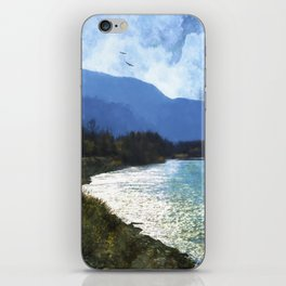 Peace In The Valley - Landscape Art iPhone Skin