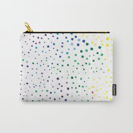 rainbow color geometric Carry-All Pouch