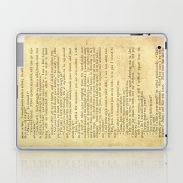 Jane Eyre, Mr. Rochester First Marriage Proposal by Charlotte Bronte Laptop & iPad Skin
