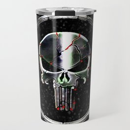 The Chrome Punisher Travel Mug