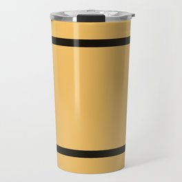 Hufflepuff Stripes Travel Mug