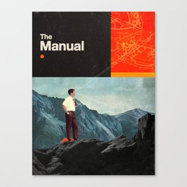 The Manual Canvas Print
