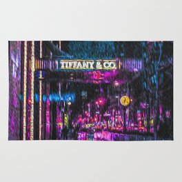 Midnight at Tiffany Rug