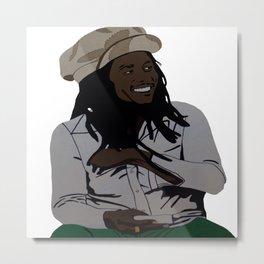 Bobbie Marley Metal Print