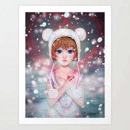 Warm my heart... Art Print