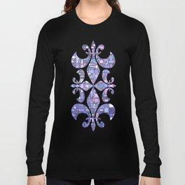 Blue Cubes Long Sleeve T-shirt