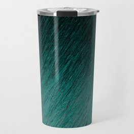 Funky Dark Cyan Travel Mug