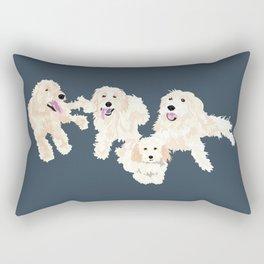 Kylie, tate, connor, and callie Rectangular Pillow