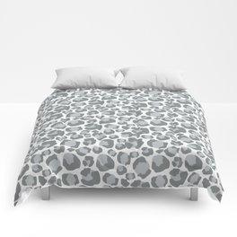 Snow Leopard Feline Comforters