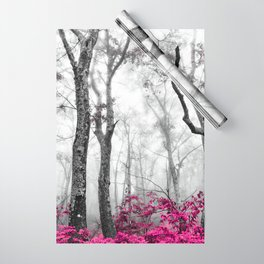 Princess Pink Forest Garden Wrapping Paper