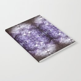 Reflected Amethyst Notebook