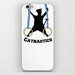 Catnastics Rings iPhone Skin