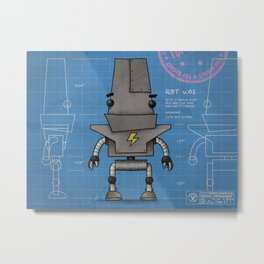 RBT v0.1 Metal Print