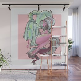 Mission Failure Pastel Watercolor Painting Wall Mural