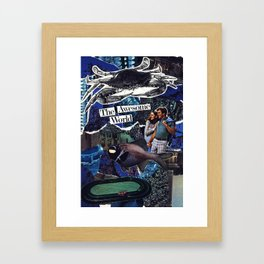 The Awesome World Framed Art Print