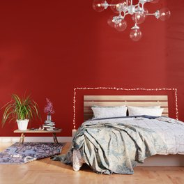 Simply Hot Summer Red - Mix and Match with Simplicity of Life Wallpaper