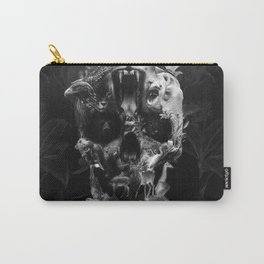 Kingdom Skull B&W Carry-All Pouch