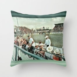 Rodeo Hitchin' Throw Pillow
