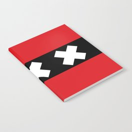 flag of Amsterdam Notebook