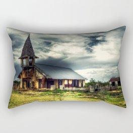 The Old Church Rectangular Pillow