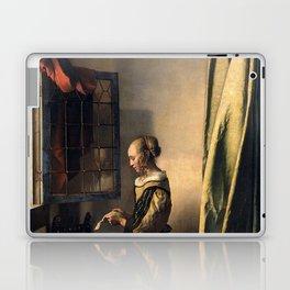 "Johannes Vermeer ""Girl Reading a Letter at an Open Window"" Laptop & iPad Skin"