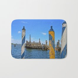 Vizcaya Barge Adventures Bath Mat