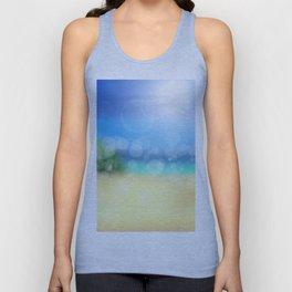 Bokeh Beach Summer Sun Wellness Unisex Tank Top