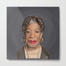 Celebrity Sunday ~ Maya Angelou Metal Print
