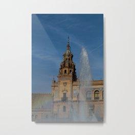 plaza de España Metal Print