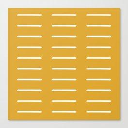 organic / yellow Canvas Print