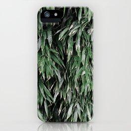 green bamboo iPhone Case