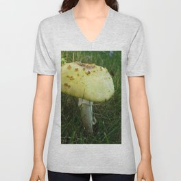 Fly on Magic Mushroom Unisex V-Neck