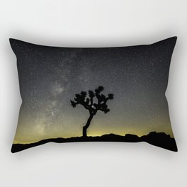 Milky Way at Joshua Tree Rectangular Pillow