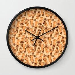 Snare a Rabbit Wall Clock