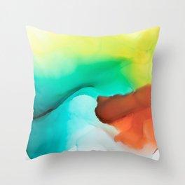 Colorlove Throw Pillow
