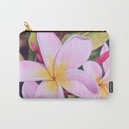 Hawaiian Plumerias Carry-All Pouch