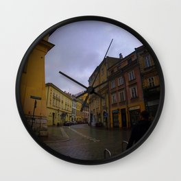 Poland 1 Wall Clock