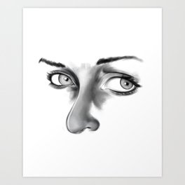 Thoughtful Art Print